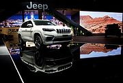 Der neue Jeep® Cherokee auf dem Internationalen Automobilsalon in Genf 2018